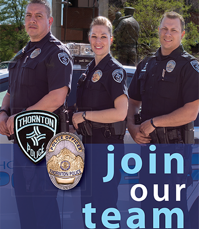 Thornton Police Department Recruiting Video
